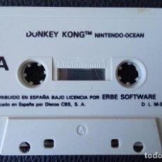 Videojuegos y Consolas: DONKEY KONG BY NINTENDO OCEAN. ERBE 1987 – MSX,. Lote 242007125