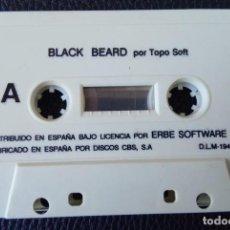 Videojuegos y Consolas: BLACK BEARD BY TOPO SOFT. 1988 – MSX,. Lote 242007420