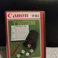 Jeux Vidéo et Consoles: Y'AHTZEE MSX. Lote 242219205