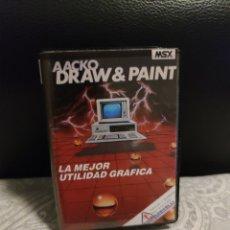 Jeux Vidéo et Consoles: LA MEJOR UTILIDAD GRAFICA MSX. Lote 242220645