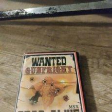 Jeux Vidéo et Consoles: WANTED GUNFRIGHT MSX. Lote 242934200