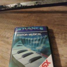 Jeux Vidéo et Consoles: EDITOR MUSICAL MSX. Lote 242934430