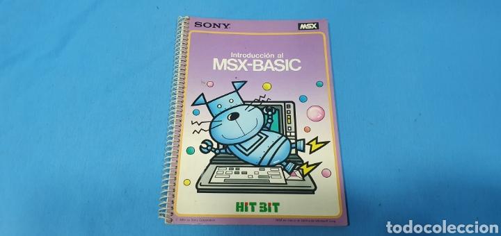 INTRODUCCIÓN AL MSX - BASIC - HIT BIT SONY 1984 (Juguetes - Videojuegos y Consolas - Msx)