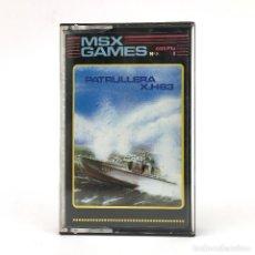 Videojuegos y Consolas: PATRULLERA X.H63 MSX GAMES Nº 5 GTS - GENESIS - AGD 1987 / SPY HUNTER RARO JUEGO CINTA MSX2 CASSETTE. Lote 243876260