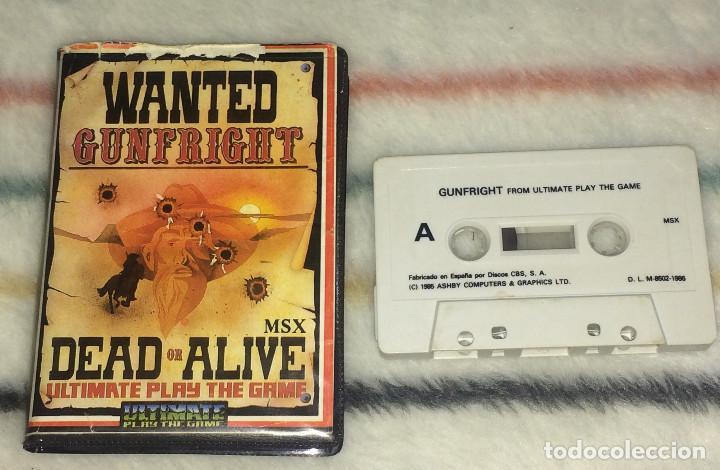 JUEGO MSX - GUNFRIGHT (ULTIMATE PLAY THE GAME / ERBE SOFTWARE) EDICIÓN EN ESTUCHE (Juguetes - Videojuegos y Consolas - Msx)