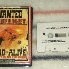 Videojuegos y Consolas: JUEGO MSX - GUNFRIGHT (ULTIMATE PLAY THE GAME / ERBE SOFTWARE) EDICIÓN EN ESTUCHE. Lote 244692465