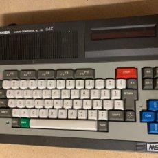 Videojuegos y Consolas: ORDENADOR MSX TOSHIBA HOME COMPUTER HX-10 64 K. Lote 245064250