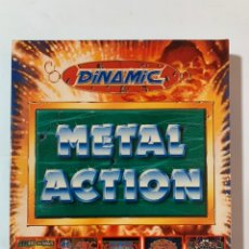 Videojuegos y Consolas: JUEGO ORDENADOR MSX METAL ACTION SATAN AFTER THE WAR LA AVENTURA ORIGINAL AMC FREDDY HARDEST. Lote 245410000