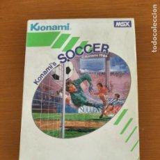 Videojuegos y Consolas: KONAMI'S SOCCER MSX. Lote 245567585
