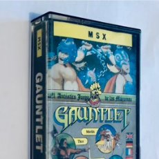 Videojuegos y Consolas: GAUNTLET [US GOLD] 1986 ATARI GAMES GREMLIN GRAPHICS .FROM THE DEEPER DUNGEONS - ERBE SOFTWARE [MSX]. Lote 42669352