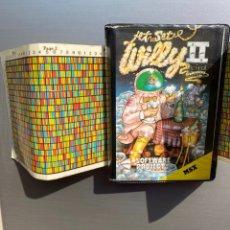 Videojuegos y Consolas: MSX - JET SET WILLY II (COMPLETO !). Lote 246617850