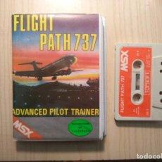 Videojuegos y Consolas: JUEGO 'FLIGHT PATH 737' MSX. Lote 248694950