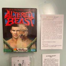 Videojuegos y Consolas: MSX - ALTERED BEAST (ESTADO IMPECABLE COLECCIONISTA). Lote 249069685