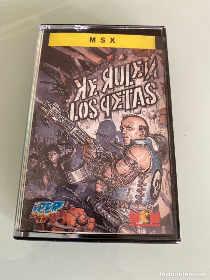 MSX - KE RULEN LOS PETAS (CARGA VERIFICADA) (Juguetes - Videojuegos y Consolas - Msx)