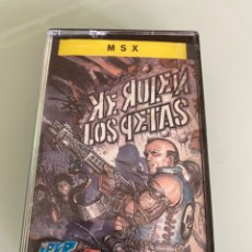 Videojuegos y Consolas: MSX - KE RULEN LOS PETAS (CARGA VERIFICADA). Lote 249531890
