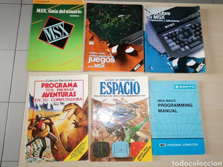 LOTE DE LIBROS MSX (Juguetes - Videojuegos y Consolas - Msx)