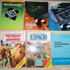 Videojuegos y Consolas: LOTE DE LIBROS MSX. Lote 251365980