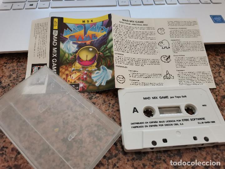 OCASION COLECCIONISTA !! ANTIGUO JUEGO CONSOLA MSX MAD MIX GAME ERBE SOFTWARE 1988 (Juguetes - Videojuegos y Consolas - Msx)