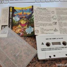 Videojuegos y Consolas: OCASION COLECCIONISTA !! ANTIGUO JUEGO CONSOLA MSX MAD MIX GAME ERBE SOFTWARE 1988. Lote 251659405