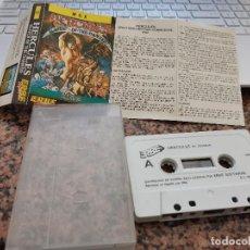 Videojuegos y Consolas: OCASION COLECCIONISTA ANTIGUO JUEGO CONSOLA MSX HERCULES SLAYER OF THE DAMNED ! ERBE SOFTWARE 1989. Lote 251659540