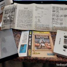 Videojuegos y Consolas: OCASION COLECCIONISTA ANTIGUO JUEGO CONSOLA MSX TAI-PAN ERBE SOFTWARE OCEAN 1988 CON INSTRUCCIONES !. Lote 251659565