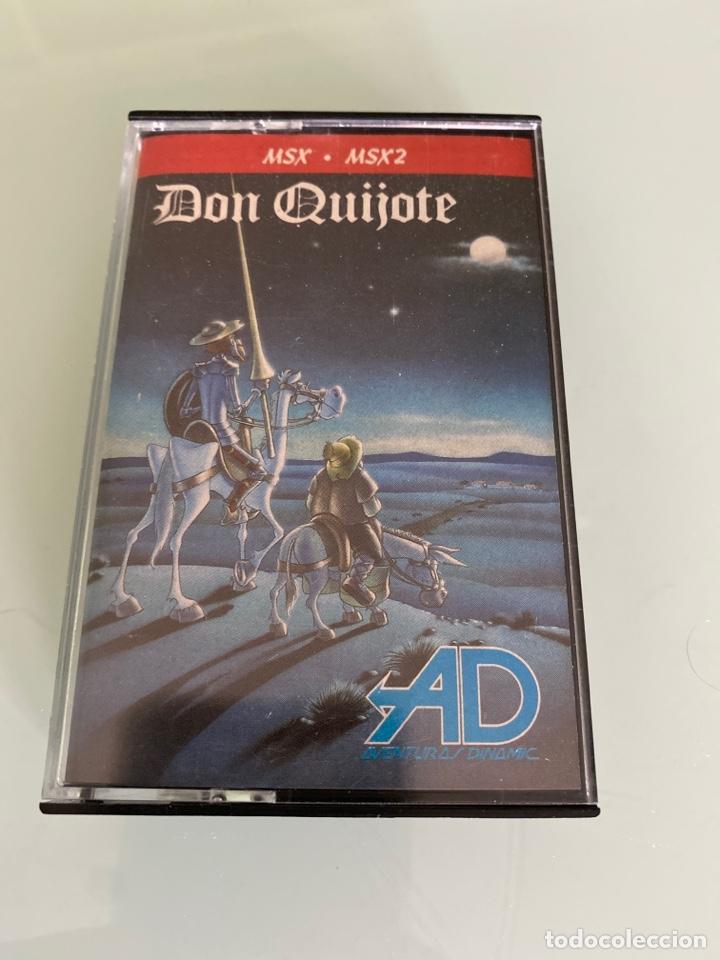 MSX - DON QUIJOTE (CARGA VERIFICADA) / DINAMIC (Juguetes - Videojuegos y Consolas - Msx)