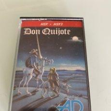 Videojuegos y Consolas: MSX - DON QUIJOTE (CARGA VERIFICADA) / DINAMIC. Lote 251942670