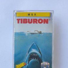 Videojogos e Consolas: TIBURÓN JUEGO MSX ERBE. Lote 252995440