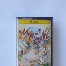 Videojuegos y Consolas: EL MISTERIO DEL NILO JUEGO MSX ZIGURAT. Lote 253004275