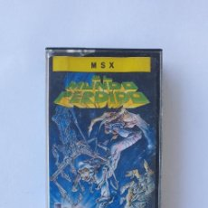Videojuegos y Consolas: EL MUNDO PERDIDO JUEGO MSX TOPOSOFT. Lote 253125825