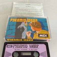 Videojuegos y Consolas: MSX - PYRAMID WARP (COMPLETO) T&ESOFT / CARGA VERIFICADA. Lote 253674040