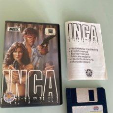 Videojuegos y Consolas: MSX - DISKETTE - INCA - DISCO. Lote 253774330