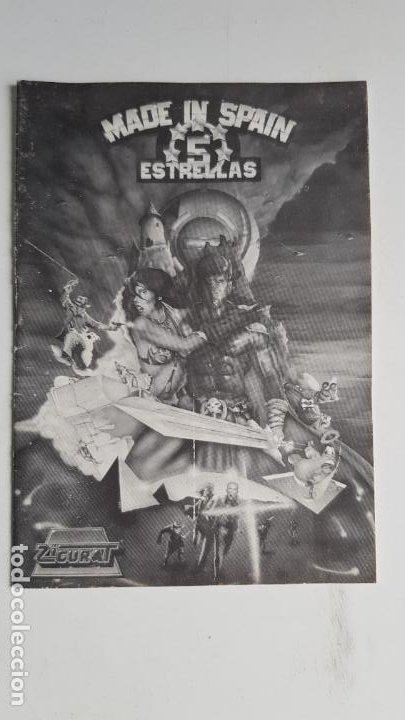 Videojuegos y Consolas: Lote de 13 cintas, manuales y panfletos MSX - Foto 3 - 254182200