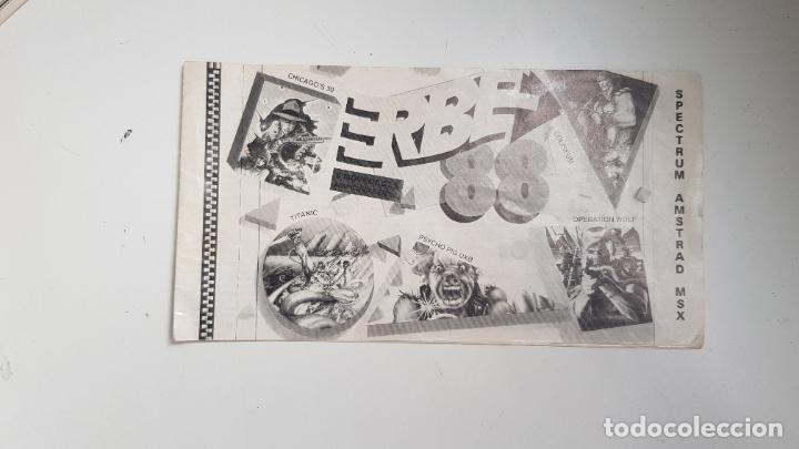 Videojuegos y Consolas: Lote de 13 cintas, manuales y panfletos MSX - Foto 8 - 254182200