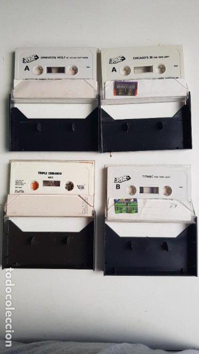 Videojuegos y Consolas: Lote de 13 cintas, manuales y panfletos MSX - Foto 11 - 254182200