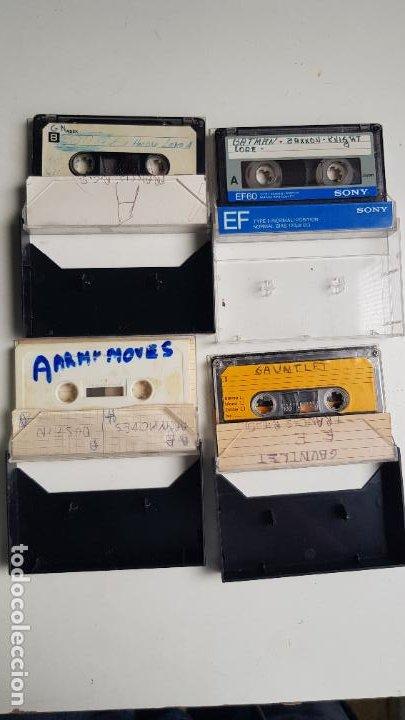 Videojuegos y Consolas: Lote de 13 cintas, manuales y panfletos MSX - Foto 12 - 254182200