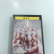 Videojuegos y Consolas: SURVIVOR JUEGO MSX TOPO. Lote 254255925
