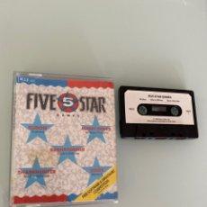 Videojuegos y Consolas: MSX - FIVE 5 STAR GAMES (CARGA VERIFICADA). Lote 254360830