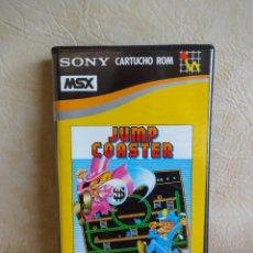 Videojuegos y Consolas: ANTIGUO JUEGO MSX JUMP COASTER SONY ORIGINAL HIT BIT. Lote 254500925