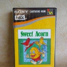 Videojuegos y Consolas: ANTIGUO JUEGO MSX SWEEF ACORN SONY ORIGINAL HIT BIT. Lote 254501405