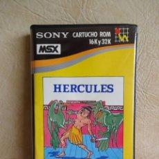 Videojuegos y Consolas: ANTIGUO JUEGO MSX HERCULES SONY ORIGINAL HIT BIT. Lote 254552635