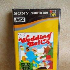 Videojuegos y Consolas: ANTIGUO JUEGO MSX WEDDING BELL SONY ORIGINAL HIT BIT. Lote 254554745