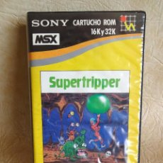 Videojuegos y Consolas: ANTIGUO JUEGO MSX SUPERTRIPPER SONY ORIGINAL HIT BIT. Lote 254555580