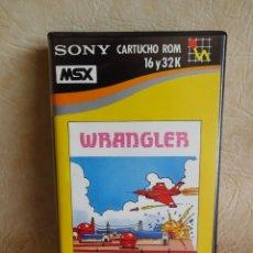 Videojuegos y Consolas: ANTIGUO JUEGO MSX WRANGLER SONY ORIGINAL HIT BIT. Lote 254557450