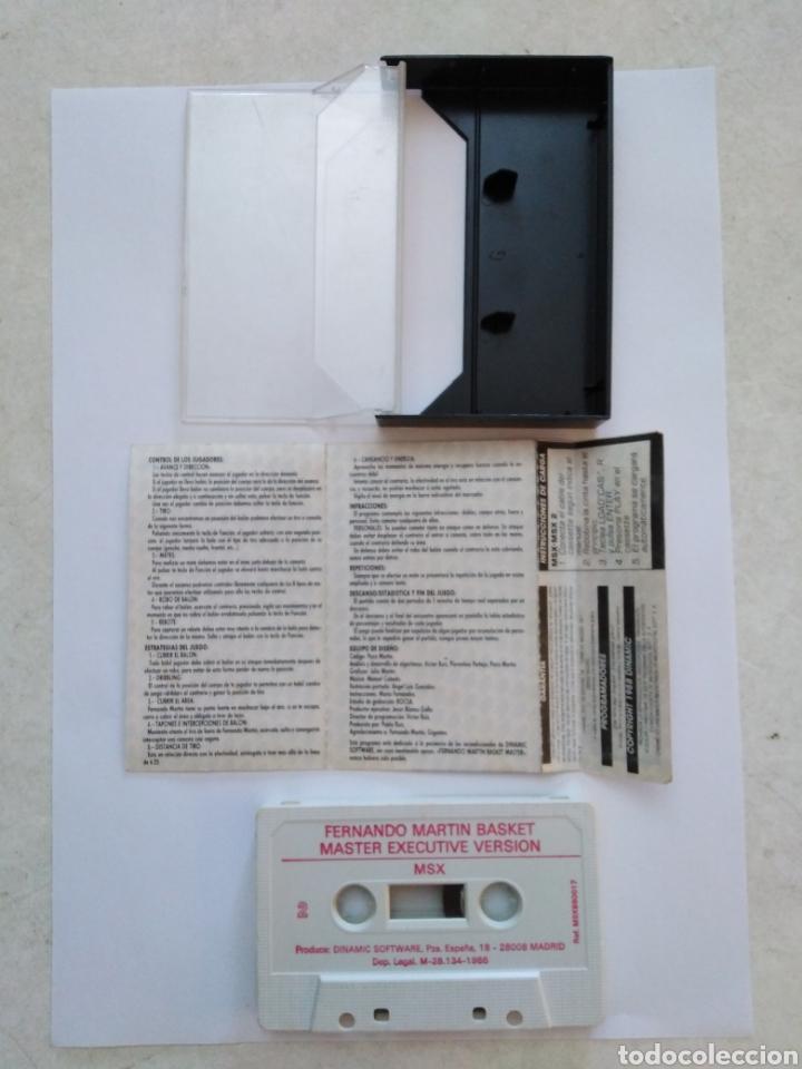 Videojuegos y Consolas: Juego msx-msx2 ( DINAMIC ) Fernando Martín - Foto 3 - 254969495