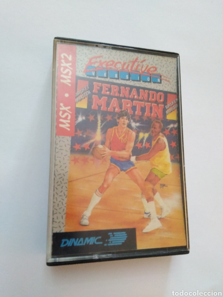 JUEGO MSX-MSX2 ( DINAMIC ) FERNANDO MARTÍN (Juguetes - Videojuegos y Consolas - Msx)