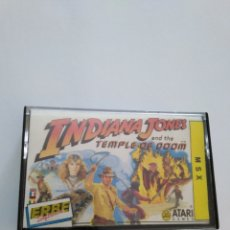 Videojuegos y Consolas: JUEGO MSX ( ERBE, ATARI ) INDIANA JONES AND THE TEMPLE OF DOOM. Lote 254971425