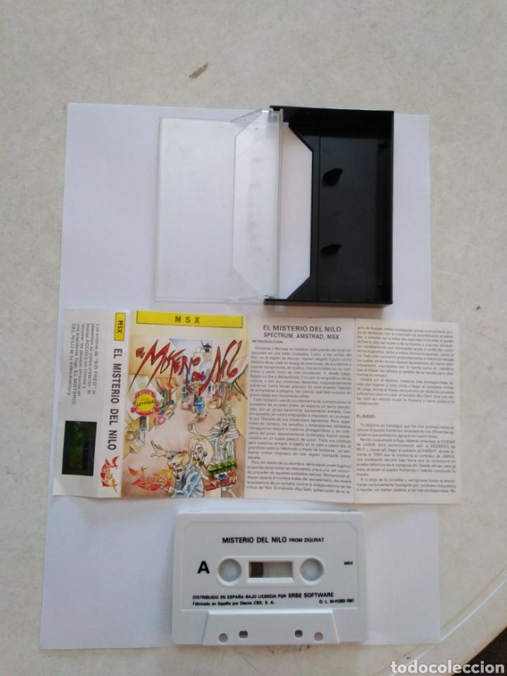 Videojuegos y Consolas: Juego msx ( FROM ZIGURAT ) El misterio del Nilo - Foto 2 - 254973310