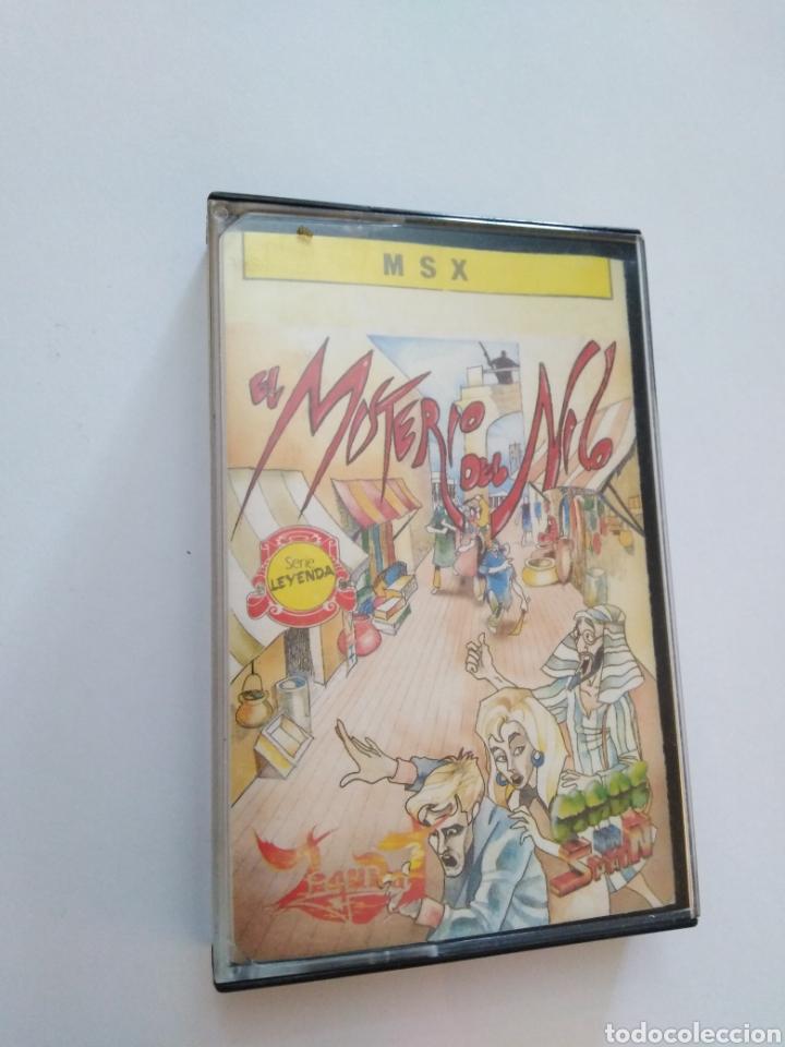 JUEGO MSX ( FROM ZIGURAT ) EL MISTERIO DEL NILO (Juguetes - Videojuegos y Consolas - Msx)