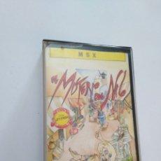 Videojuegos y Consolas: JUEGO MSX ( FROM ZIGURAT ) EL MISTERIO DEL NILO. Lote 254973310
